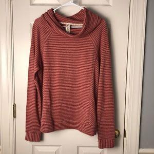XL Aventura Long Sleeve Cowl Neck Sweater